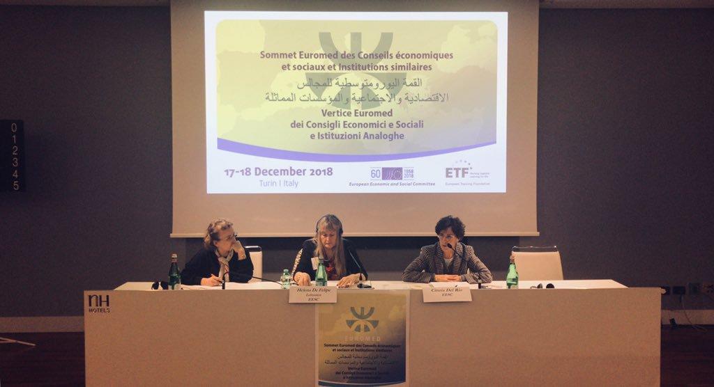 Educación y formación profesional en la región euromediterránea