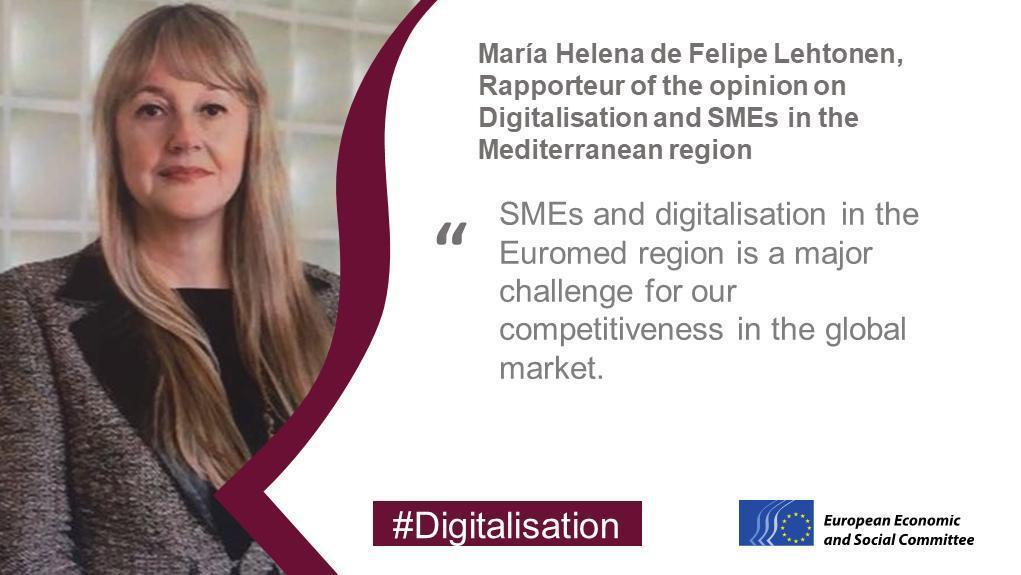 Digitalisation: a key challenge for SMEs in the Mediterraneanregion